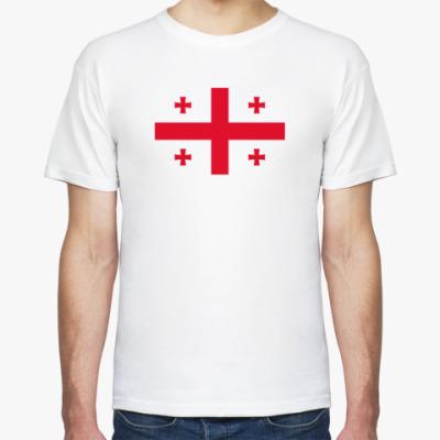 Футболка Флаг Грузии