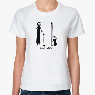 Классическая футболка Спички