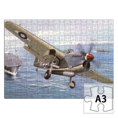 Пазл Fairey Barracuda Boxart пазл