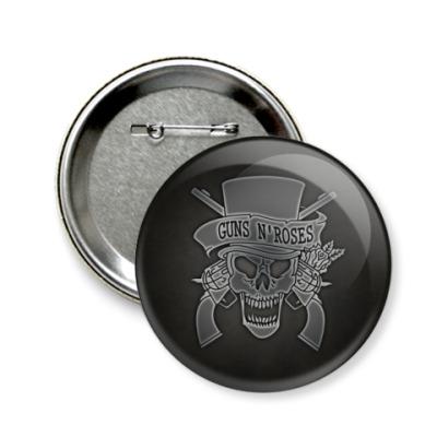 Значок 58мм Guns N' Roses