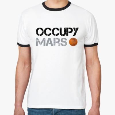Футболка Ringer-T Occupy Mars