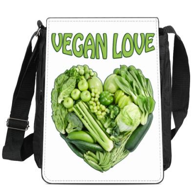 Сумка-планшет Вегетарианцы рулят!