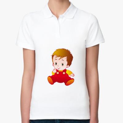 Женская рубашка поло Малыш