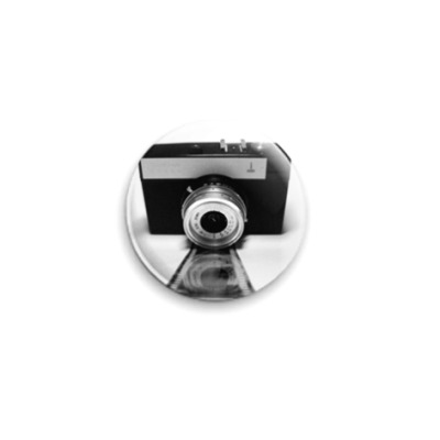 Значок 25мм фотоаппарат