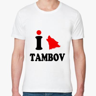 Футболка из органик-хлопка ТАМБОВ TAMBOV