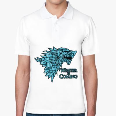 Рубашка поло Игра престолов Герб Старков