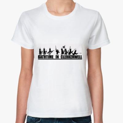 """Классическая футболка  """"Bathtime"""" футболка"""