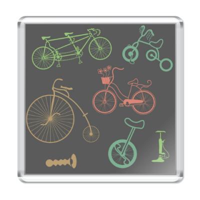 Магнит Велосипеды