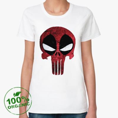 Женская футболка из органик-хлопка Дэдпул: Каратель / Deadpool