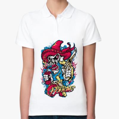 Женская рубашка поло Гангстер