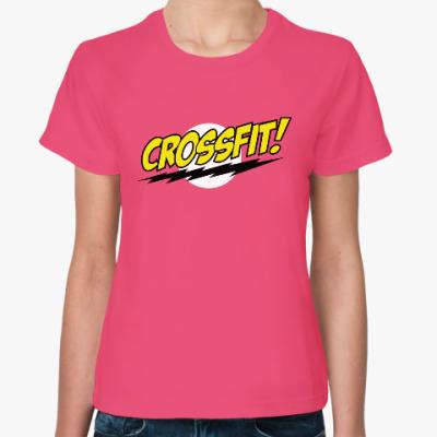 Женская футболка Crossfit