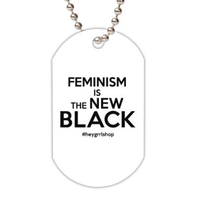 Жетон dog-tag The New Black
