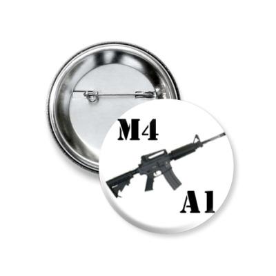 Значок 37мм M4A1