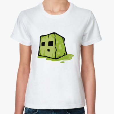 Классическая футболка  Slime