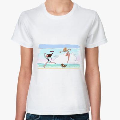 Классическая футболка Пляж