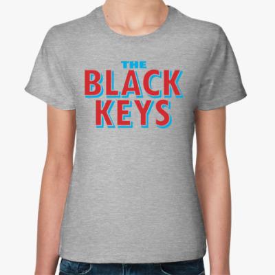 Женская футболка  Black Keys