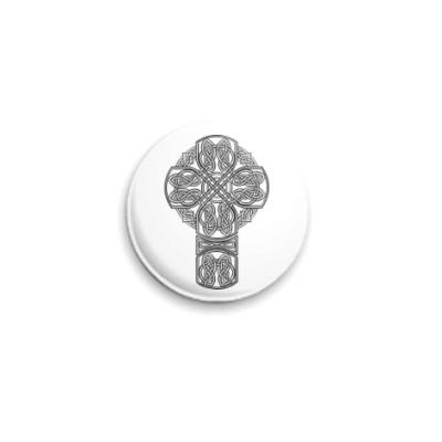 Значок 25мм  'Кельтский крест'