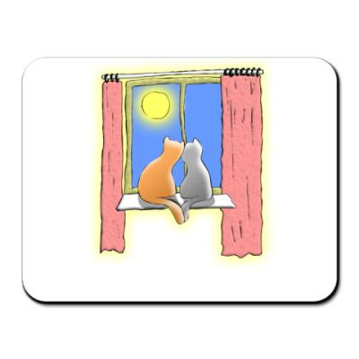 Коврик для мыши Кошки