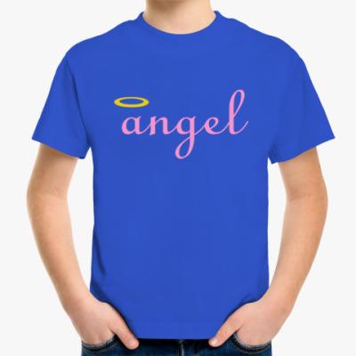 Детская футболка Ангел