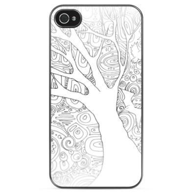 Чехол для iPhone Дерево градиент