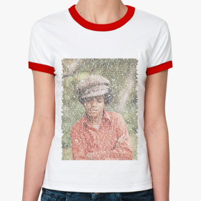 Женская футболка Ringer-T Jackson2