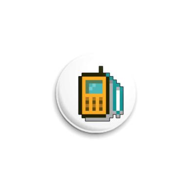 Значок 25мм ICQ-статус.