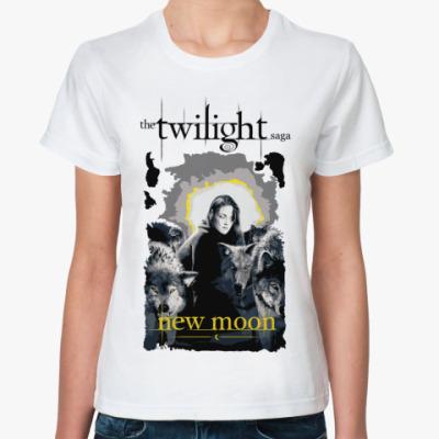 Классическая футболка Bella and wolves