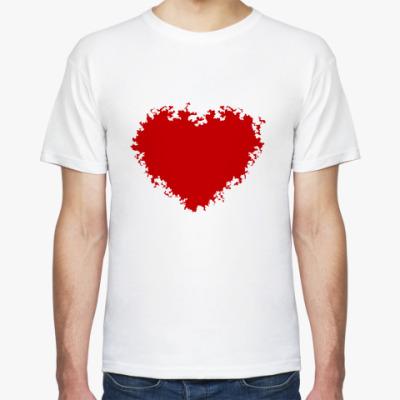 Футболка Красное сердце