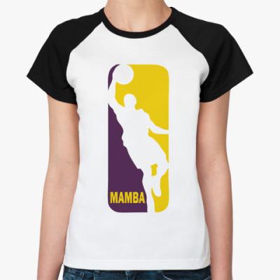 Женская футболка реглан Black Mamba