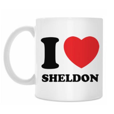 Кружка I Love Sheldon