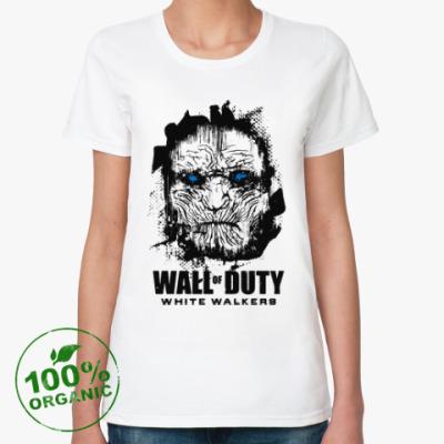 Женская футболка из органик-хлопка Белые ходоки Игра престолов
