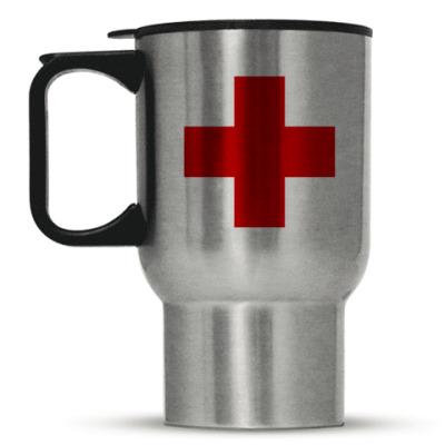 Кружка-термос «Красный Крест»