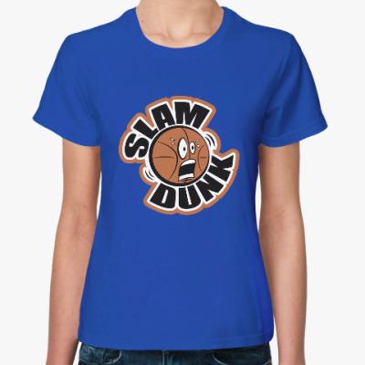 Женская футболка Slam Dunk