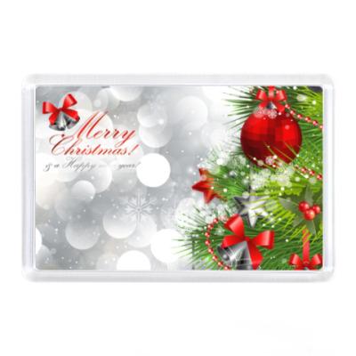 Магнит Merry Cristmas