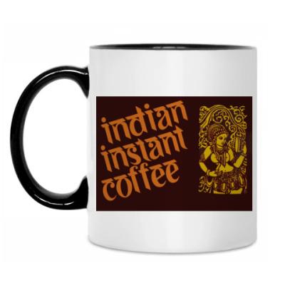 Кружка Indian instant coffee