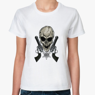 Классическая футболка шериф