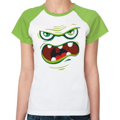 Женская футболка реглан I'm Hungry