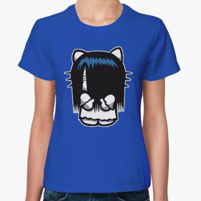 Женская футболка Китти Звонок