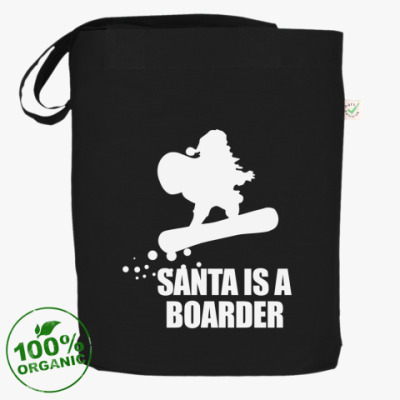 Сумка Santa is a boarder!