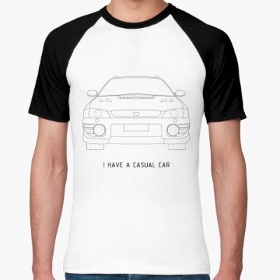 Футболка реглан Casual Car