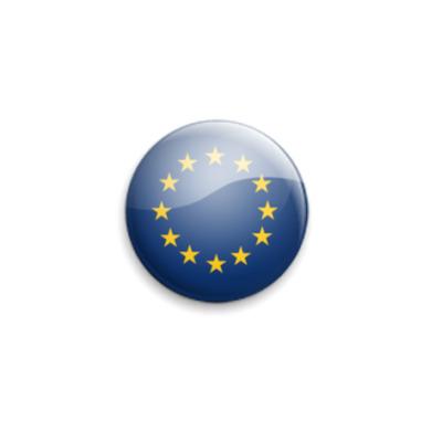 Значок 25мм European-Union