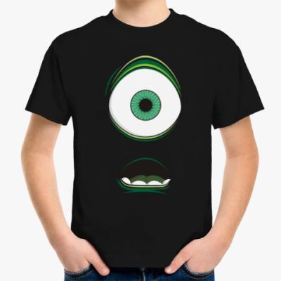 Детская футболка Одноглазый монстр monster