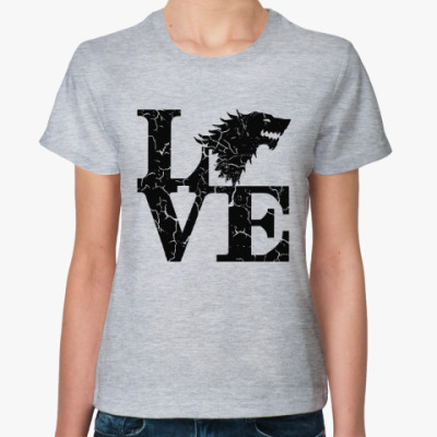 Женская футболка Игра престолов. Старки
