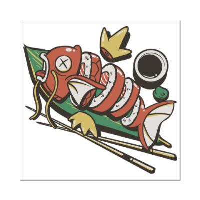 Наклейка (стикер) Суши