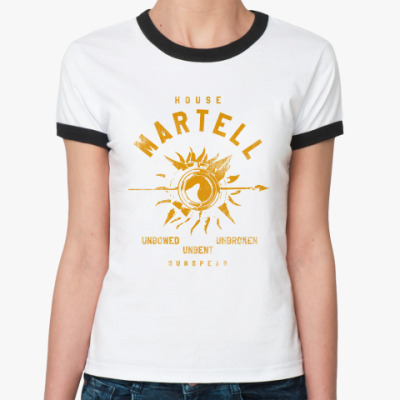 Женская футболка Ringer-T House Martell