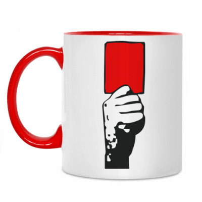 Кружка Красная карточка