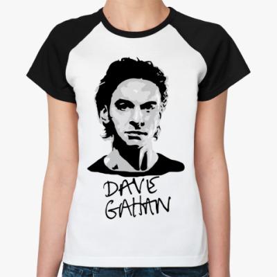 Женская футболка реглан Dave