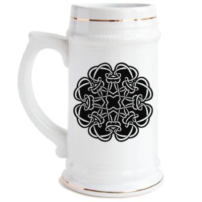 Пивная кружка Кельтский узор