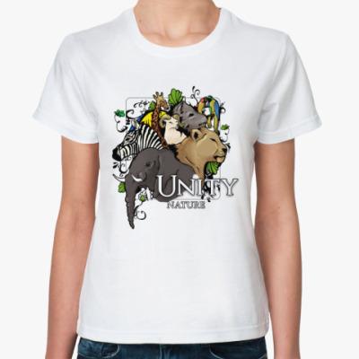 Классическая футболка  Unity nature