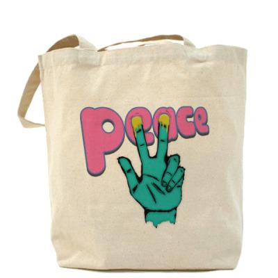 Сумка Холщовая сумка Y PEACE?